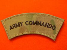 MTP Army Commando Shoulder Titles Multicam Army Commando Shoulder Titles