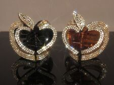 Gorgeous Hair Clip Claw with Shiny Swarovski Crystals Hair Jewelry Accessories