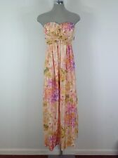 Jessica Simpson NWT Modern Floral Multicolor casual long dress