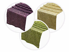 "NEW - 12"" x 108"" Sequined Sparkly TABLE RUNNER Wedding Party Catering Linens"