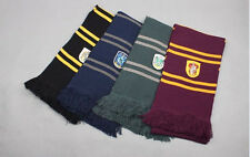1PC Harry Potter Gryffindor Ravenclaw Slytherin Hufflepuff Thicken Scarf Costume