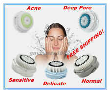 5 types Facial Cleanser Brush Heads for Clarisonic MIA,Classic,PRO,PLUS,new ARIA