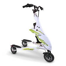 Trikke Pon-e 48V Transporter Green Commuter Vehicle