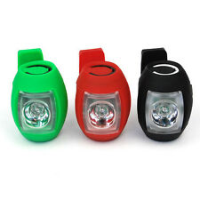 Bicycle Bike Cycling USB Charger LED Tail Flash Light Safety Rear Warning Lamp