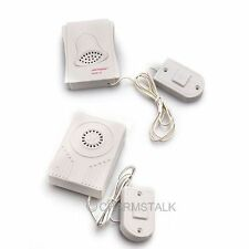 Super White Home Push Door Bell Button Chime Wired Digital Electronic Doorbell