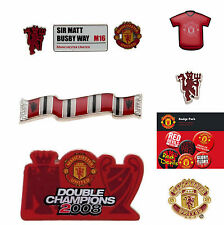 MANCHESTER UNITED FC ASSORTED LAPEL PIN BADGE COLLECTION