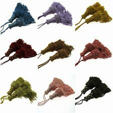 18cm Large Key Tassel - 16  Variegated Colours Available -  Cushions or Craft