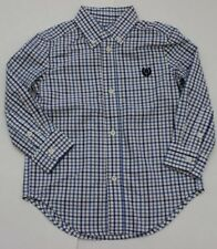 NWT Chaps by Ralph Lauren Button Shirt Plaid Boy's S/S 2 2T 3 3T Free Ship