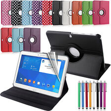 """CASE FOR SAMSUNG GALAXY TAB 4 10.1"""" (T530/T531/T535) 360 ROTATING COVER STAND"""