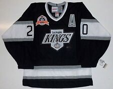 LUC ROBITAILLE LOS ANGELES KINGS 1993 STANLEY CUP VINTAGE JERSEY