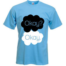 OKAY? OKAY. - MENS THE FAULT IN OUR STARS INSPIRED T-SHIRT - VARIOUS SIZES
