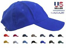 Masraze New Plain Solid Cotton Style Baseball Ball Cap Caps Hat Hats Adjustable