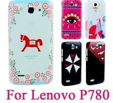 1 pcs/lot  Creative Genuine Leather Case Sale Hot  for Lenovo p780 in Stock