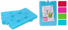 Pack of 2 Small Travel Cool Box Bag Ice Freezer Blocks Packs Sandwich Cool Bag