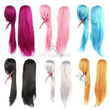 32in. Sexy Women's Lady Fashion Straight Wigs Style Cosplay Long Hair Wig