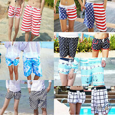 New Couple Lover Mens Womens Summer Beach Pant Surf Board Swim Sexy Shorts Pants