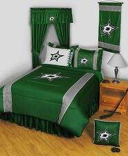 DALLAS STARS SIDELINES COMFORTER AND SHEET SET COMBO - 19-0843-combo