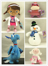 Disney Doc Mcstuffins Plush Doll Lambie Hallie Stuffy and Chilly Soft Toy Gift