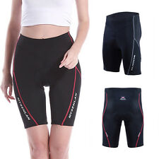 2014 New Womens Breathable Cycling Bicycle Bike Outdoor Padded Shorts Pants JS
