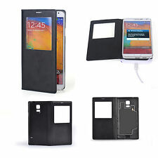 Leather Cover Case Wireless Qi Charging Receiver For Samsung Galaxy SV S5 i9600