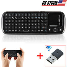 Wireless Keyboard Remote TouchPad for Media Centre KOGAN SMART TV USB Supported