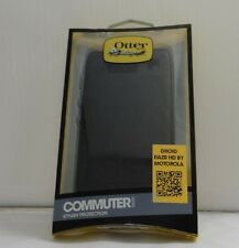 OtterBox Commuter Case Series for Motorola Razr HD Black, Retail Packaging