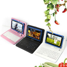 """7"""" Android 4.2 Ultrathin Tablet 16GB WIFI 3G Dual Core Cam 1.5GHz Blue +Keyboard"""