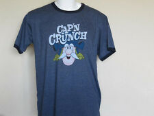Cap'n Crunch Collectible  Cereal T-Shirt Adult Medium / Large Quaker Captain New