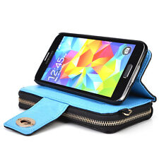 Kroo Magnetic Clutch Wristlet Wallet Purse for Samsung Galaxy S5