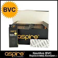 Aspire Nautilus Bottom Vertical Coil (BVC) Replacement Atomizer Heads 5 Pack