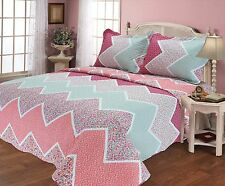 68-All For You quilt set, bedspread and coverlet with pillow shams included