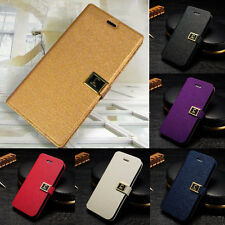Luxury Magnetic PU Leather Case Cover Skin for Apple iPhone 5 5S 4 4S