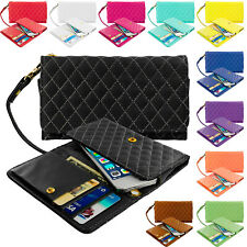 Luxury Flip Wallet Leather Design Case Cover Pouch Holder for Cell Phones iPhone