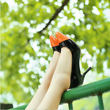 New High Heels Wedding Cheap Shoes Fashion Sexy Luster Pointed  Womens Shoes