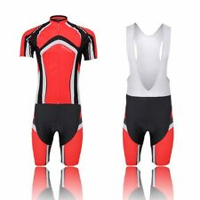 XINTOWN Men's Cycling Jersey Comfortable Bike Wear Bicycle Outdoor Shirt Shorts