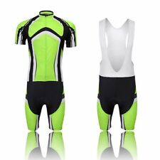 XINTOWN Green Cycling Jersey Bicycle BIB Short Outdoor Sports Clothing Bike Suit