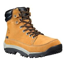 Timberland Brown Leather Boots Men Sizes Rime Ridge Mid Waterproof Winter 2402R