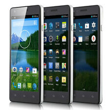 "5.0"" Android 4.4 Unlocked quad Core A GPS 3G GSM T mobile Cell Smart phone NET10"