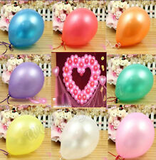 Wholesale 20Pcs/50Pcs/100Pcs Birthday Wedding Party Decor Latex Balloons 10""