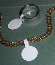 Jewellery Price Stickers / Labels Tags / Dumbells For Keyrings, Accessories