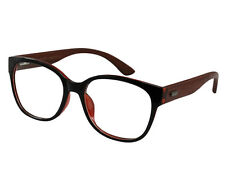 Ebe Buddy Holly Wayfarer In Layered Black And Red Acetate Full Coverage Lens