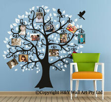 Family Photo Tree Wall Stickers Decal Removable Kids Nursery Art Decor Mural DIY