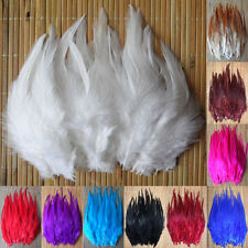 50-200pcs! Beautiful Pheasant Neck Feathers 10-15cm/4-6 10Color Choose
