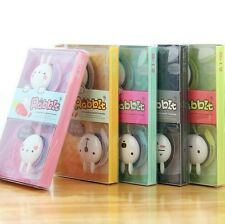 New Cute Rabbit Music Headphone Earphone Cell Phone Portable Multicolor