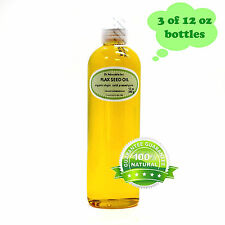 Premium 100% Pure Organic Cold Pressed Best Fresh Flax Seed Oil 2 oz up to 7 LB