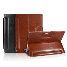 HOT Triple Keyboard PU Leather Cover Case Stand For Microsoft Surface Pro 3+Gift