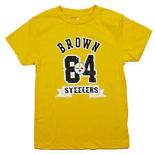 NFL Kids / Youth Pittsburgh Steelers Antonio Brown #84 Short Sleeve T-Shirt