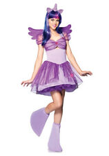 NEW My Little Pony Twilight Sparkle Dress Outfit Adult Halloween Party Costume