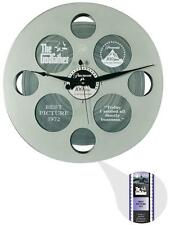 Wall Clock Paramount Pictures Film Reel 35MM Movie Decor Home Theater Media Room