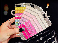 Fashion Bling Diamond Rhinestone Crystal Hard Back Case Cover For iPhone 5 5S 5G